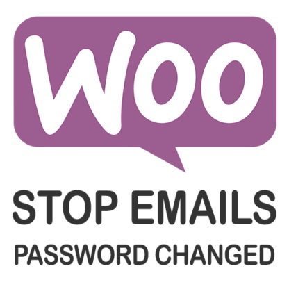 WooCommerce stop emails password changed
